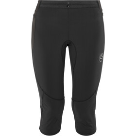 La Sportiva Vortex 3/4 Tights Dame black/grey